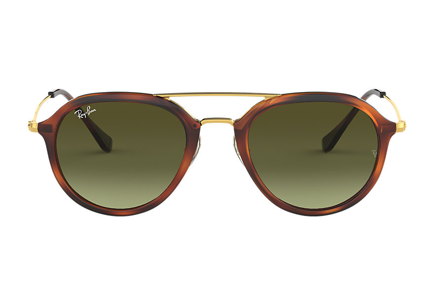 Ray-Ban Sunglasses RB4253 Tortoise with Green Gradient lens