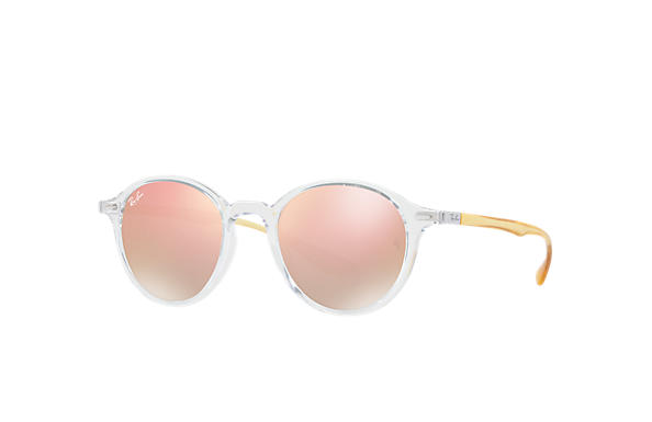 Ray-Ban 0RB4237-RB4237 Transparent; Gelb SUN