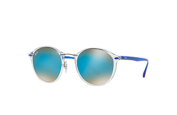 Ray-Ban 0RB4242-RB4242 Transparent; Blue SUN