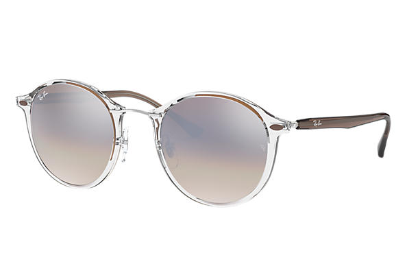 Ray-Ban 0RB4242-RB4242 Transparent; Brown SUN