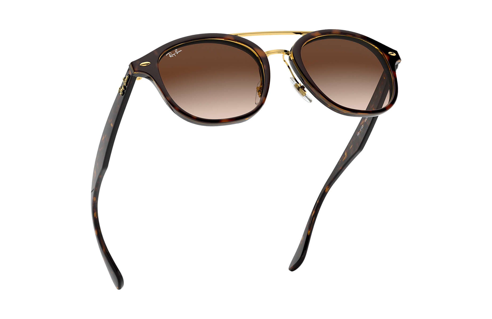 e86a8d5919dd Ray-Ban RB2183 Tortoise - Acetate - Brown Lenses - 0RB218312251353 ...