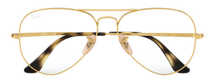 Ray-Ban Aviator Optics Gold