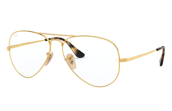 Ray-Ban 0RX6489-Aviator Optics Gold OPTICAL