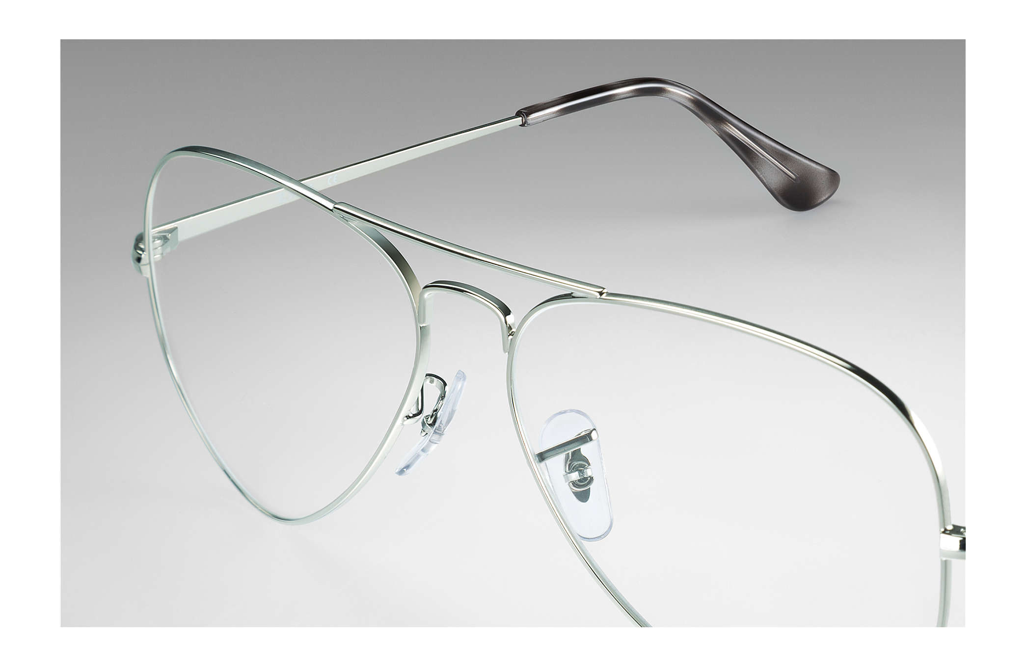 e9a7d86b0 Ray-Ban eyeglasses Aviator Optics RB6489 Silver - Metal ...