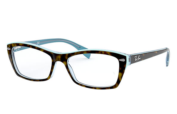 Ray-Ban 0RX5255-RB5255 Tortoise,Light Blue; Tortoise,Blue OPTICAL