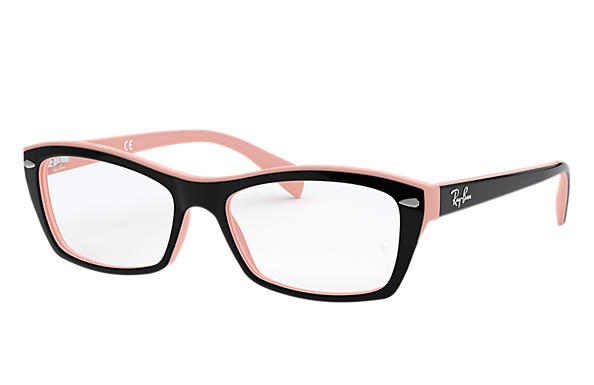 716566f6b5 Ray-Ban prescription glasses RB5255 Black - Acetate - 0RX5255502453 ...
