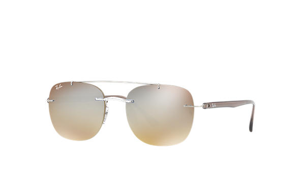 Ray-Ban 0RB4280-RB4280 Transparent; Brown SUN