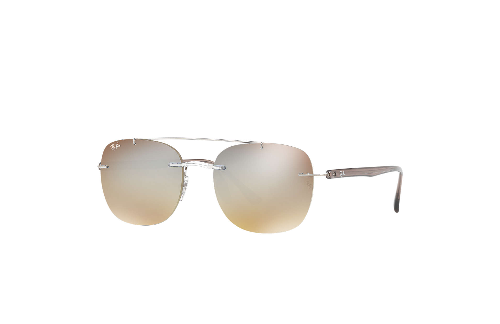 b614275f4b2 Ray-Ban RB4280 Transparent - Liteforce - Brown Silver Lenses ...