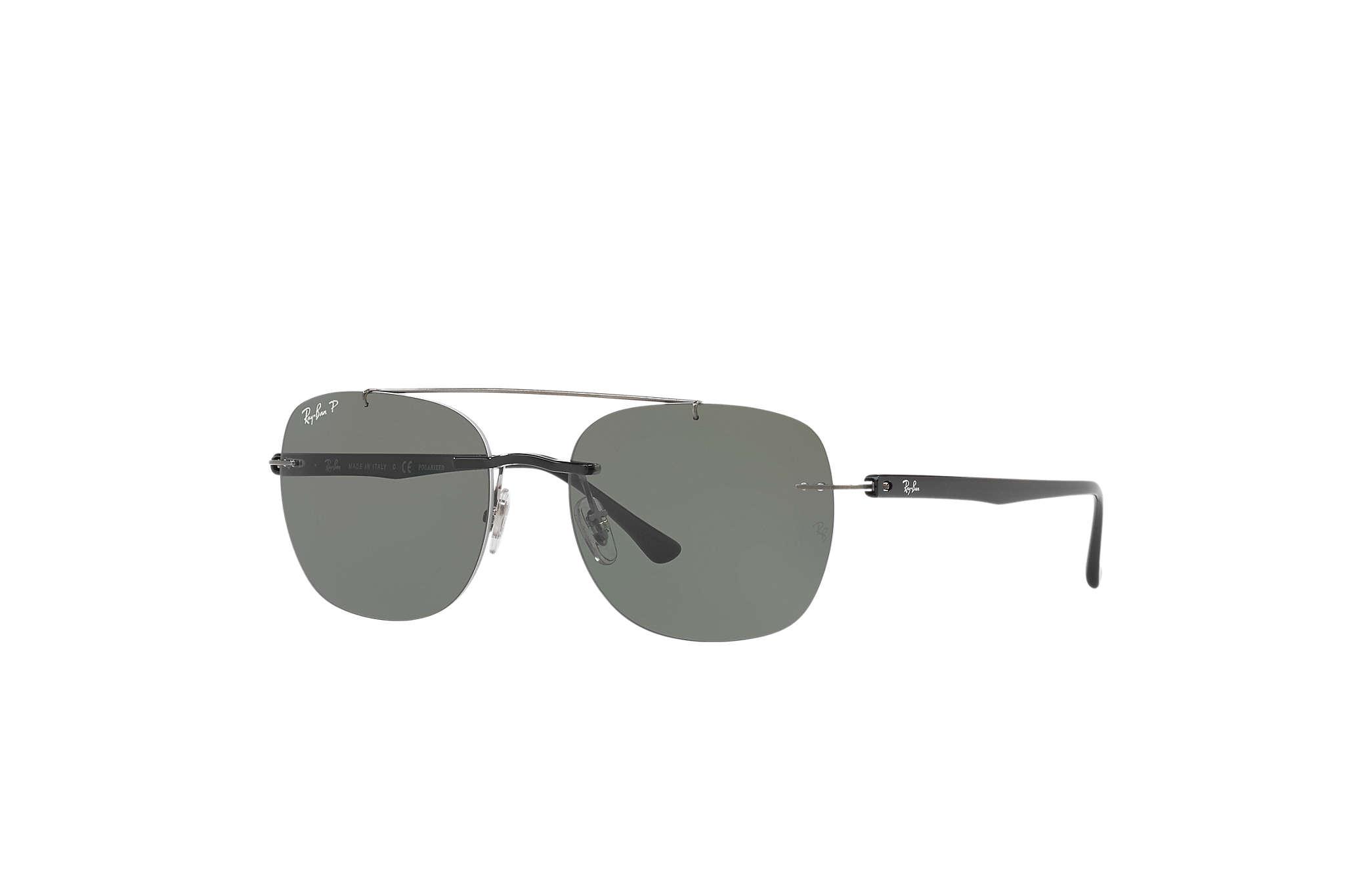 RAY BAN RAY-BAN Herren Sonnenbrille » RB4280«, schwarz, 601/9A - schwarz/grün