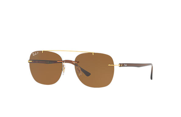 Ray-Ban 0RB4280-RB4280 Marron SUN