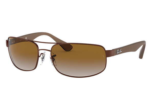 Ray-Ban 0RB3445-RB3445 Marrón SUN