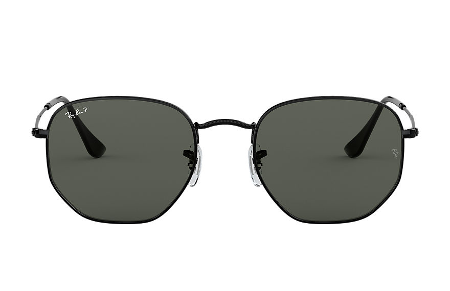Ray-Ban  sonnenbrillen RB3548N MALE 001 hexagonal flat lenses schwarz 8053672743852