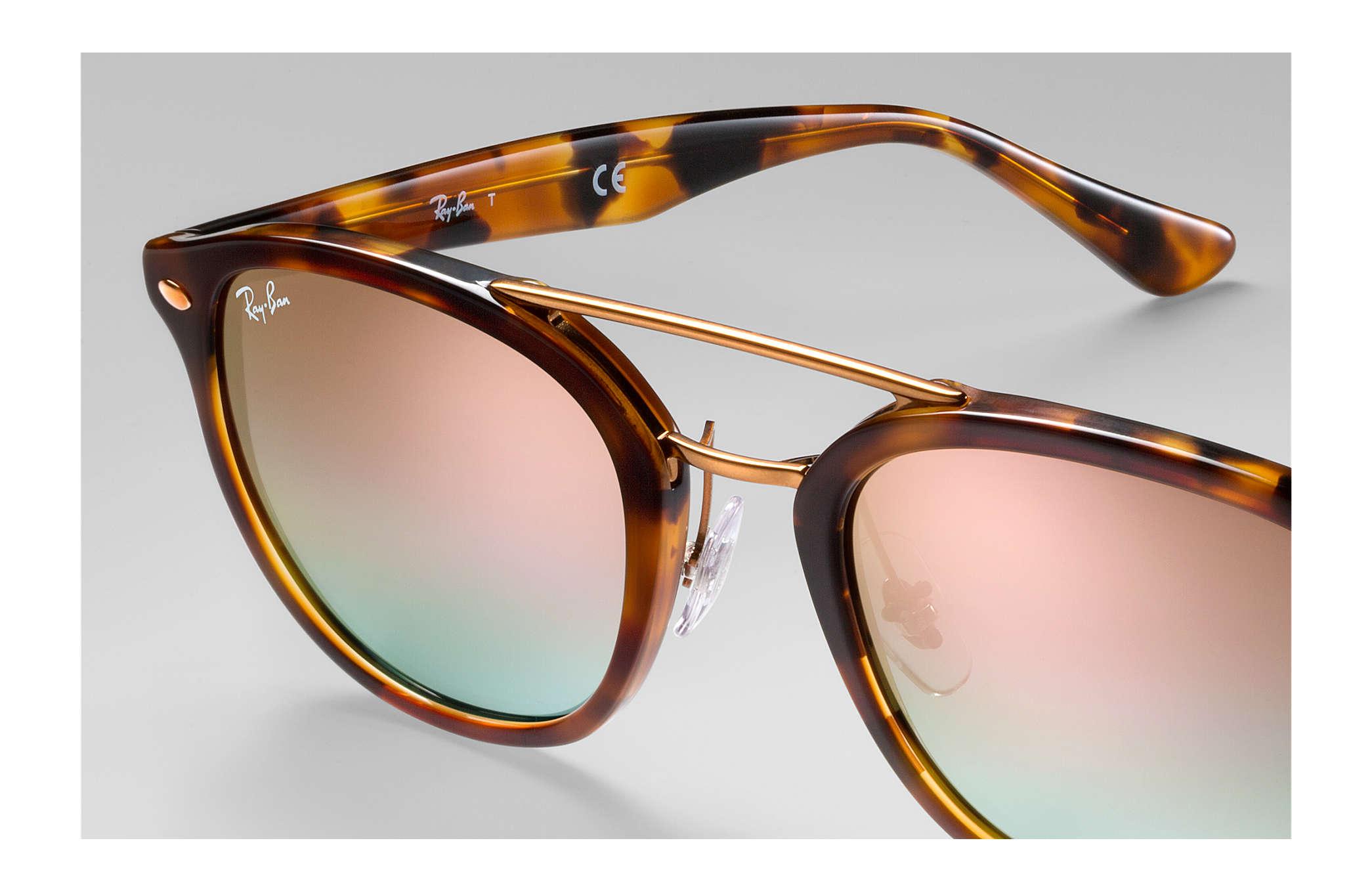 0e830ed5430 Ray-Ban RB2183 Tortoise - Acetate - Pink Lenses - 0RB21831127B953 ...