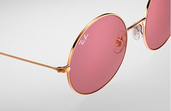 a13aea264a7 Ray-Ban Ja-jo RB3592 Bronze-Copper - Metal - Pink Lenses ...