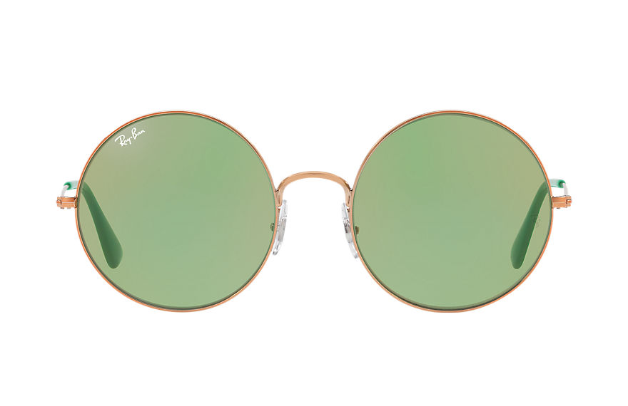 Ray-Ban Sunglasses JA-JO Bronze-Copper with Green Classic lens