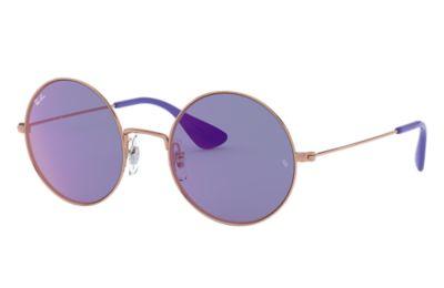 Comprar Ray-Ban Gafas-de-sol JA-JO Bronce-Cobre con lente Violeta oscuro Clásica