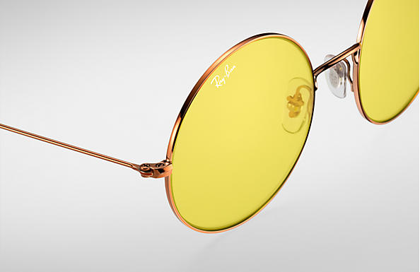 7adf57446e03 Ray-Ban Ja-jo RB3592 Bronze-Copper - Metal - Yellow Lenses ...