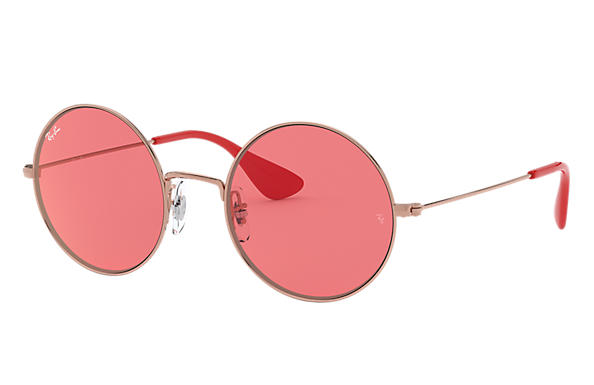 6e98c1723c1 Ray-Ban Ja-jo RB3592 Bronze-Copper - Metal - Red Lenses ...