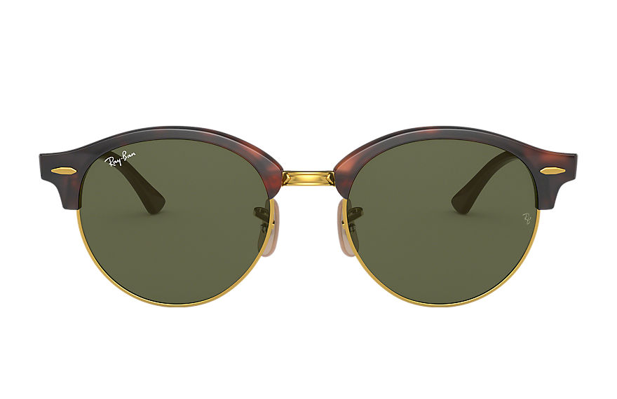 Ray-Ban  sunglasses RB4246F UNISEX 001 clubround classic 호피색 8053672751826