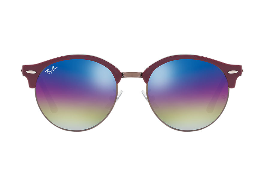 Ray-Ban  sunglasses RB4246F UNISEX 005 clubround mineral flash lenses violet 8053672751970