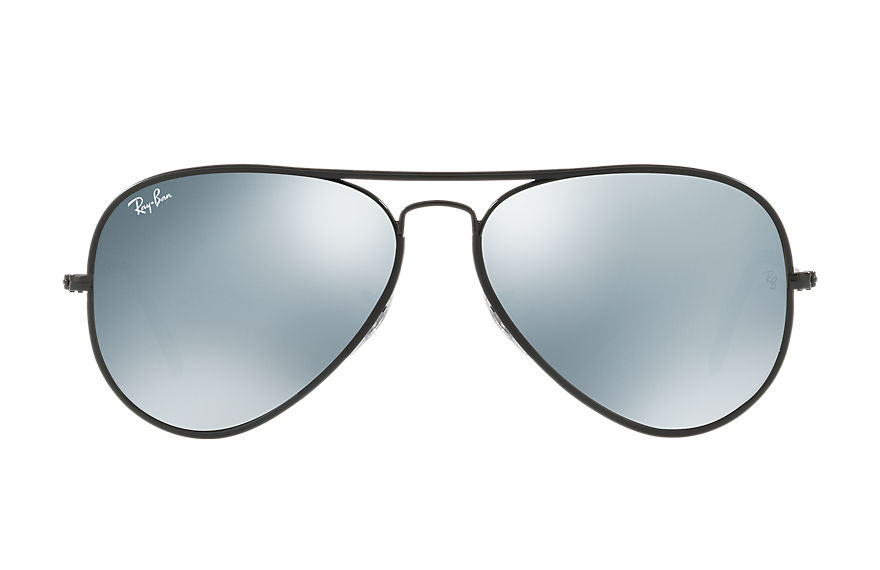 Ray-Ban  sonnenbrillen RB3025JM UNISEX 001 aviator full color schwarz 8053672755701