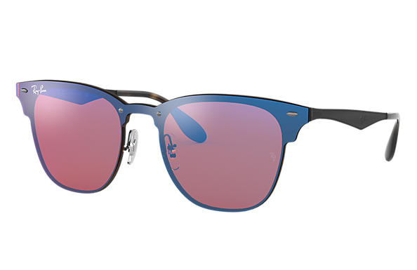 Ray-Ban 0RB3576N-BLAZE CLUBMASTER Negro SUN