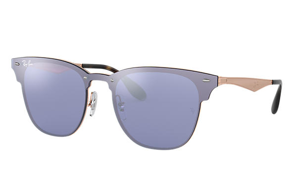 Ray-Ban 0RB3576N-BLAZE CLUBMASTER Bronze-cuivre SUN