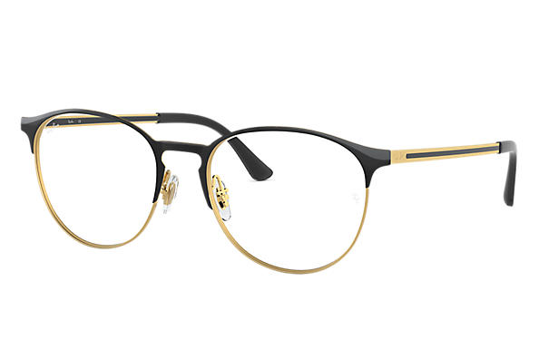 Ray-Ban 0RX6375-RB6375 Negro,Oro; Negro OPTICAL