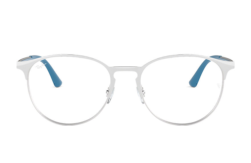 Ray-Ban  eyeglasses RX6375 UNISEX 003 rb6375 white 8053672767919