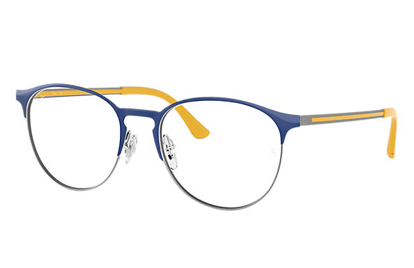 Ray-Ban 0RX6375-RB6375 Blue,Gunmetal; Yellow OPTICAL