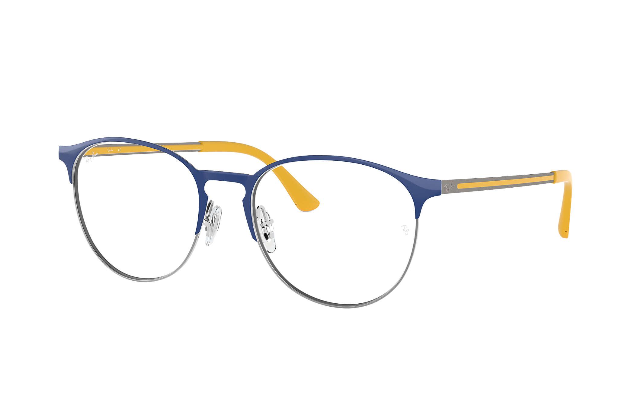71dffa1753 Ray-Ban prescription glasses RB6375 Blue - Metal - 0RX6375295053 ...