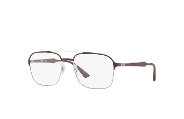 Ray-Ban 0RX6404-RB6404 Brown OPTICAL