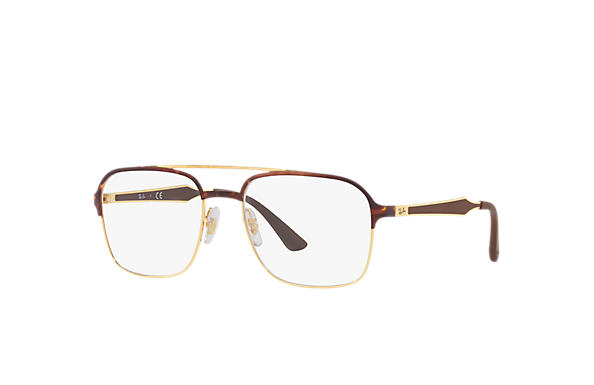 Ray-Ban 0RX6404-RB6404 Tortoise; Brown OPTICAL