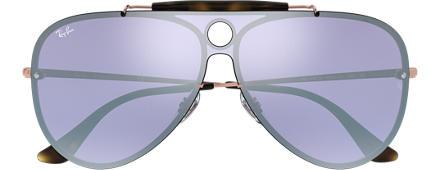 f170ea8376209 Ray-Ban BLAZE SHOOTER Bronze-acobreado com Violeta Espelhada lentes
