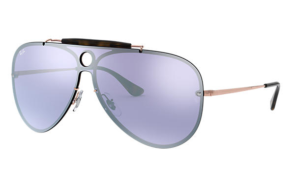 Ray-Ban 0RB3581N-BLAZE SHOOTER Bronze-Copper SUN