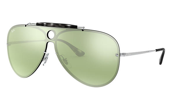 Ray-Ban 0RB3581N-BLAZE SHOOTER Plata SUN