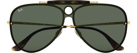 50d777074323c Ray-Ban BLAZE SHOOTER Ouro com Verde Clássica lentes