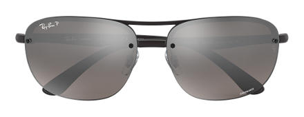 Ray-Ban RB4275 CHROMANCE Black with Silver Mirror Chromance lens