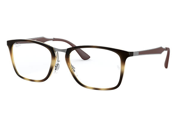Ray-Ban 0RX7131-RB7131 Tortoise; Brown OPTICAL
