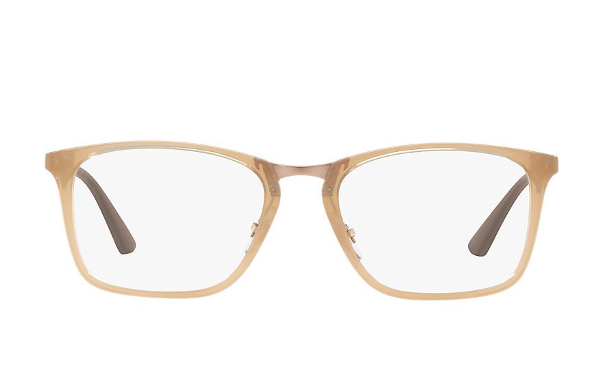 Ray-Ban  eyeglasses RX7131 MALE 001 rb7131 light brown 8053672769289