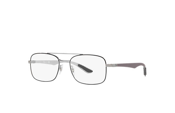 Ray-Ban 0RX8417-RB8417 Schwarz,Gunmetal; Grau OPTICAL