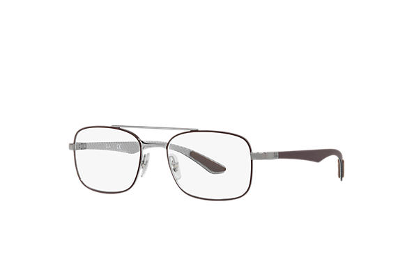 Ray-Ban 0RX8417-RB8417 Marron,Gun; Marron,Gris OPTICAL