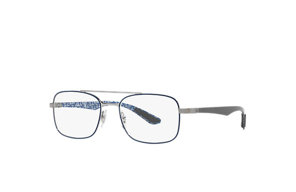 Ray-Ban 0RX8417-RB8417 Blue,Gunmetal; Black,Blue OPTICAL