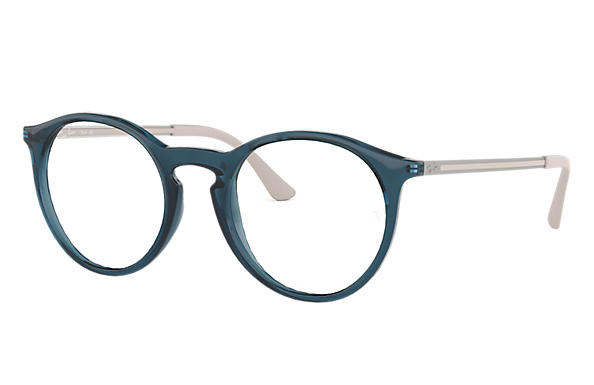 Ray-Ban 0RX7132-RB7132 Bleu; Gris OPTICAL