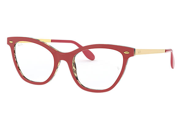 Ray-Ban 0RX5360-RB5360 Rouge,Havane; Or OPTICAL