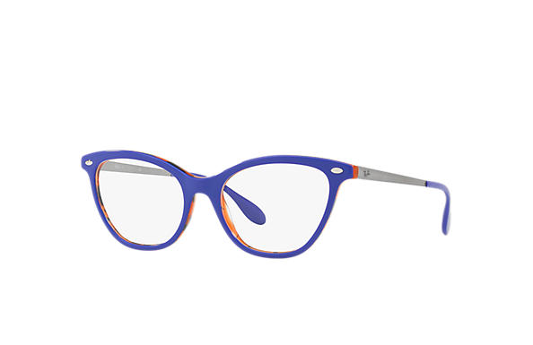 Ray-Ban 0RX5360-RB5360 Bleu,Orange; Gun OPTICAL