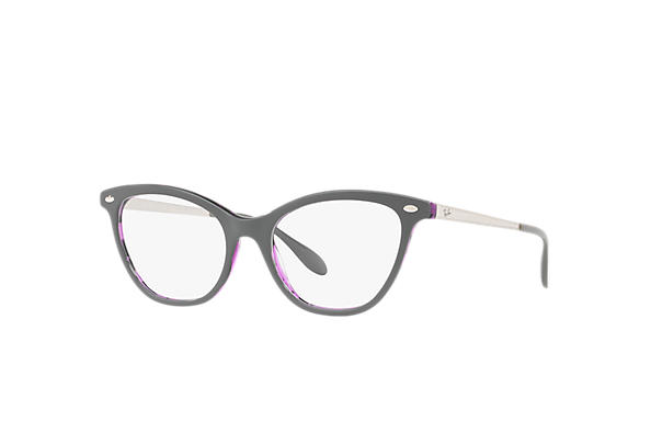 Ray-Ban 0RX5360-RB5360 Gris,Violette; Argent OPTICAL