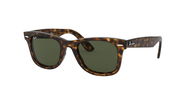 b1c62eae46 Wayfarer Ease Ray-Ban RB4340 Havane - Injected - Verres Vert - 0RB434071050  | Ray-Ban® France