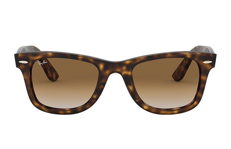 Ray-Ban WAYFARER EASE Tortoise with Light Brown Gradient lens