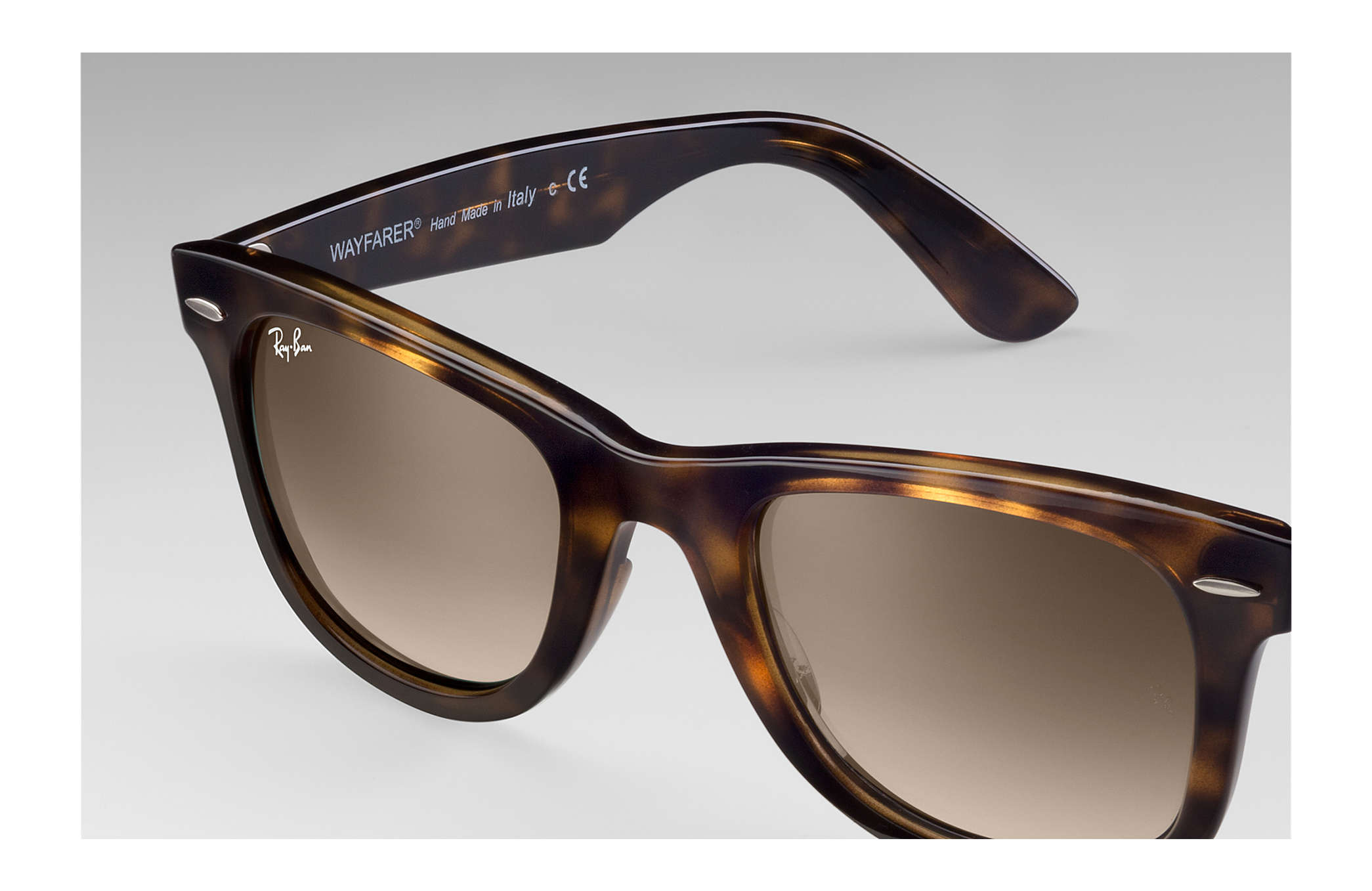731ee93102 Ray-Ban Wayfarer Ease RB4340 Tortoise - Injected - Light Brown ...